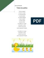 3 Canciones Infantiles Con Su Ilustración