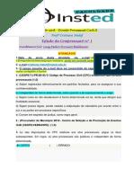 Estudo de Compreensão Processo Civil - Nº 01 (1) (1)
