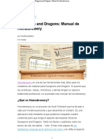 Dungeons and Dragons_ Manual de Homebrewery