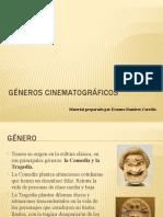 GÉNEROS CINEMATOGRÁFICOS características