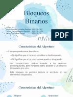 Presentación Grupo1 - Bloqueo Binario