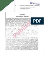 Informe del Ministerio Fiscal.
