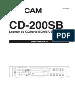 CD-200SB_Manuel