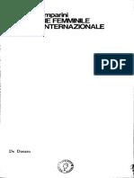 Aurelia Camparini, Questione femminile e terza internazionale, Bari