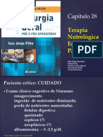 Terapia nutrologica enteral e parental