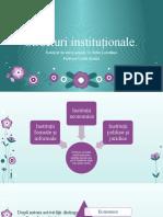 Structuri instituționale