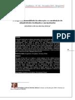 A biogovernamentalidade da educação e a constituição de subjetividades docilizadas e normatizadas