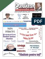 Datina - Editie Nationala - 8-9.05.2021- Prima Pagina