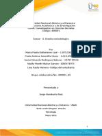 Anexo 6 - Diseño metodológico