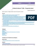 FreddieMac Imminent Default Indicators Questions for HAMP Loan Modification