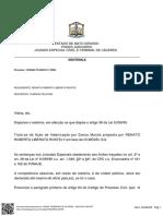 Sentença - Renato Tostey x Oi Telecom