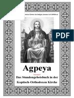 Agpeya Inhaltsverzeichnis Und Vorwort Septuaginta