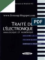 Traité de Lélectronique analogique et numérique