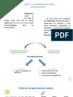 Chapitre 2 - La Rentabilité Économique Des Investissements - Cours (1)