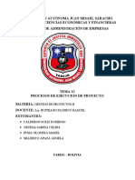 TEMA 12 PROCESOS DE EJECUCION DEL PROYECTO