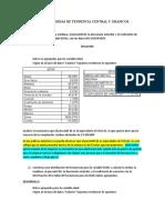 TALLER MEDIDAS DE TENDENCIA CENTRAL Y GRAFICOS