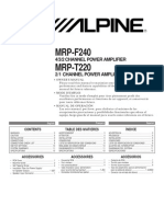 amplificator alpine mrp-t220