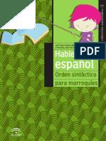 Hablemos Español (Órden Sintáctico para Marroquíes)