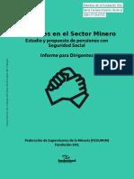 Informe Federación de Sindicatos de Supervisores Minería Privada (Fesumin) y Fundación Sol.