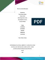 Tarea 3 - Formato Plan de Acción Institucional (PAI)
