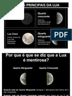 Cartaz_4 FASES PRINCIPAIS DA LUA