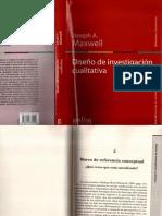 Joseph Maxwell Capítulo 3 Diseño de investigación cualitativa
