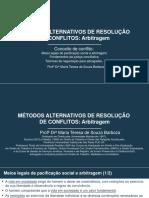AULA MARCs Arbitragem Slide 1