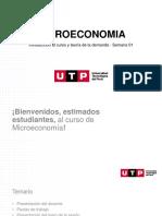 Microeconomía UTP - Semana 1