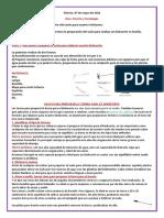 VIERNES 07 - 05 -21 CYT. PREPARACION DEL SUELO PARA NUESTRO BIOHUERTO