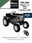 "WheelHorse WORKHORSE ""700"" TRACTOR manual1-3745-3741"