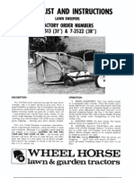 wheelhorse lawn sweeper manual 7-2513