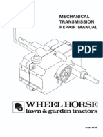wheelhorse manual transmissions service manual transmission