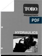 WheelHorse hydraulics manual productivity series