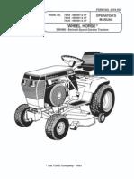toro wheel horse 416 8 operators manual rh es scribd com Wheel Horse 210 5 Manual toro wheel horse 416-8 parts manual