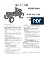 WheelHorse Engine Electrical Service Manual | Battery (Electricity on