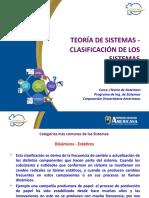2. TST CLASIFICACIÓN DE LOS SISTEMAS