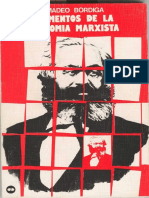 Elementos de La Economía Marxista