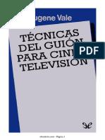 Vale Eugene-Tecnicas del guion para cine y television