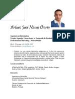 Curriculum Vitae Arturo Navas