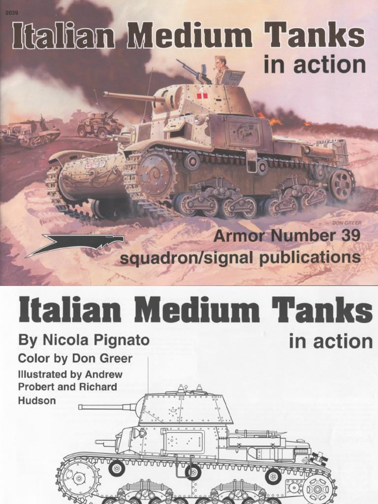 Italian Medium Tanks in Action