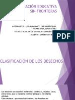 CLASIFICACIÓN DE LOS DESECHOS (1)