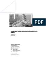 Install and Setup Guide for Cisco Security MARS, Release 5.3.x