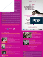 Programme Rencontre Du Cinema 1