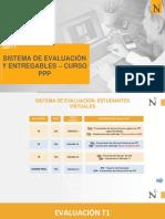 Sistema de Evaluación CURSO PPP VIRTUAL