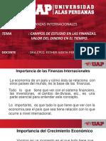CLASE 1 CAMPOS DE ESTUDIO EN LAS GF. VALOR DINERO EN EL TIEMPO