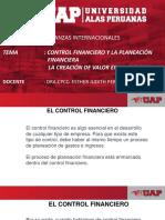 CLASE 2 CONTROL FINANCIERO Y LA PLANEACIÓN FINACIERA, CREACION DEL VALOR EN LA EMPRESA