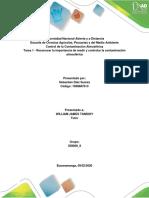 Tarea 1 - Identificar fuentes de contaminación y sus impactos