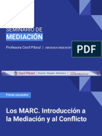 1_ Los MARC. Introducción a la Mediación y al Conflicto