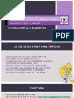 1.0 Fuentes de Información Contable- Intro