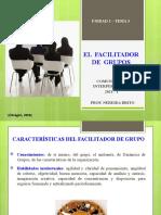 T3 FACILITADOR Caracteristicas...
